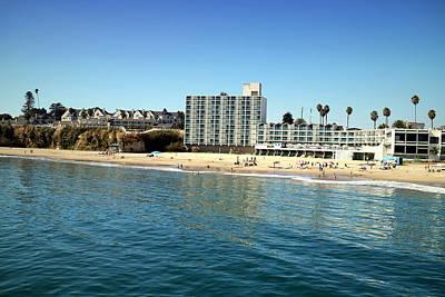 Photograph - Santa Cruz Beach by Joyce Dickens
