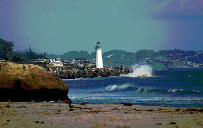 Photograph - Santa Cruz Beach by Lori Mellen-Pagliaro