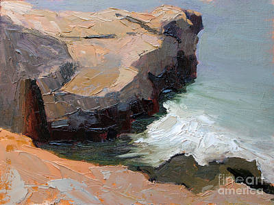 Painting - Santa Cruz Bluff by Sandra Smith-Dugan