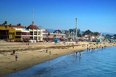 Photograph - Santa Cruz Boardwalk by Joyce Dickens