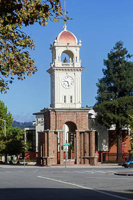 Photograph - Santa Cruz Ca Bell Tower by Mark Miller