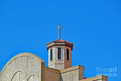 The Followers Photograph - Santa Cruz Church  by Ray Shrewsberry