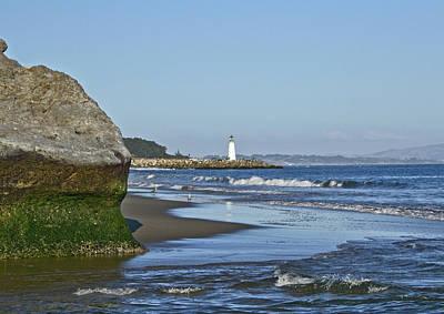 Santa Cruz Coastline - California Art Print by Brendan Reals