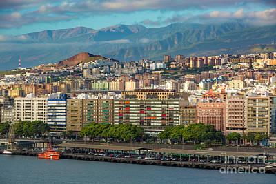 Photograph - Santa Cruz De Tenerife by Brian Jannsen
