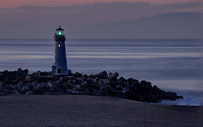 Photograph - Walton Lighthouse Early Morning by Morgan Wright