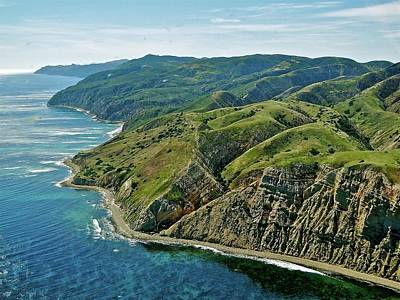 Santa Cruz Island Photograph - Santa Cruz Island by Liz Vernand
