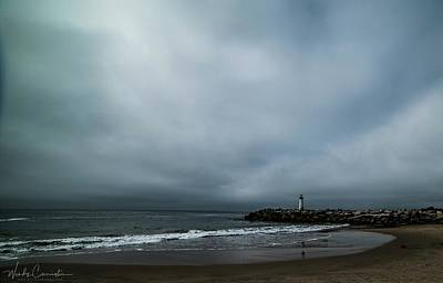 Photograph - Santa Cruz Lighthouse by Wendy Carrington