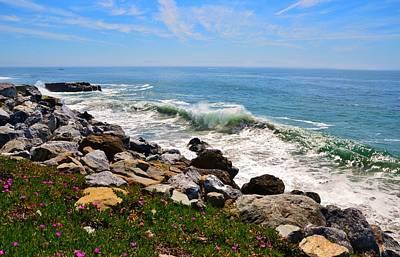Photograph - Santa Cruz Surf by Marilyn MacCrakin