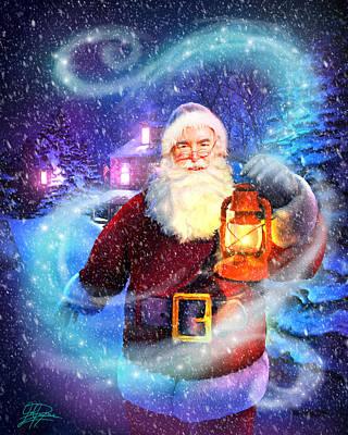 Painting - Santa Delivers by Joel Payne