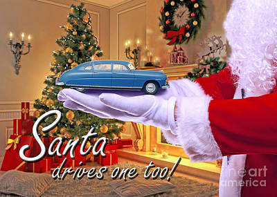 Photograph - Santa Drives One Too. by Ed Dooley