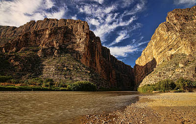 Photograph - Santa Elena Canyon 1 by Judy Vincent