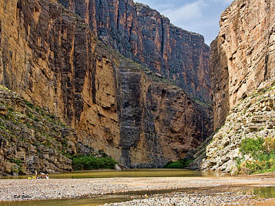 Photograph - Santa Elena Canyon by Bob Zeller