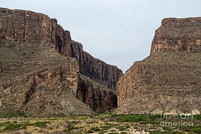 Photograph - Santa Elena Canyon by Fred Stearns