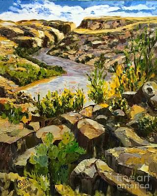 Painting - Santa Elena Canyon by Patsy Walton
