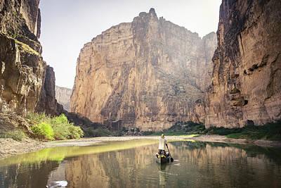 Photograph - Santa Elena Canyon by Whit Richardson
