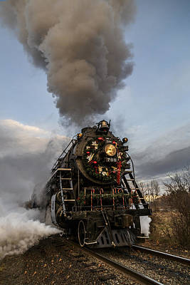 Photograph - Santa Express by Wes and Dotty Weber
