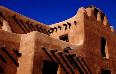 Art Print featuring the photograph Santa Fe Adobe by Kathleen Stephens