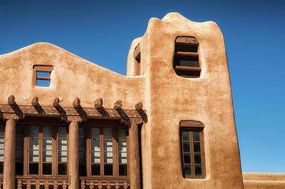 Photograph - Santa Fe Architecture by James Barber