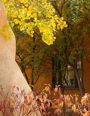 Santa Fe Autumn Art Print