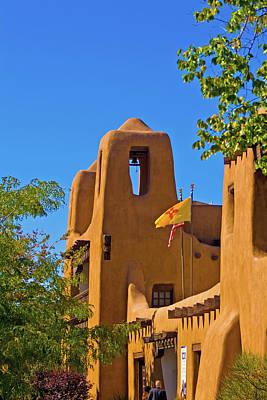 Photograph - Santa Fe Church by Bill Barber