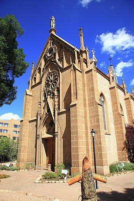Photograph - Santa Fe Church by Frank Romeo