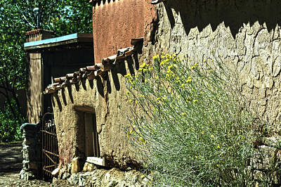 Photograph - Santa Fe Door 2 by DiDi Higginbotham