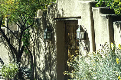 Photograph - Santa Fe Door 3 by DiDi Higginbotham