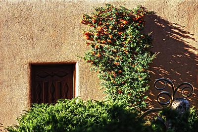 Photograph - Santa Fe Door 5 by DiDi Higginbotham