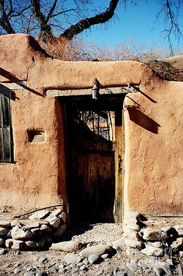 Photograph - Santa Fe Door by Jacqueline M Lewis