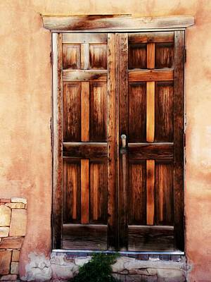 Photograph - Santa Fe Door by Joseph Frank Baraba