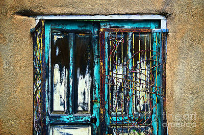 Santa Fe Doors Art Print by Ray Laskowitz - Printscapes