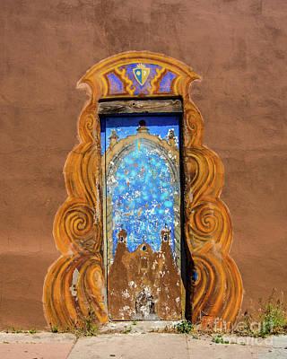Photograph - Santa Fe Doorway by Stephen Whalen