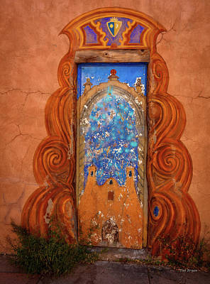Photograph - Santa Fe Doorway by Tim Bryan