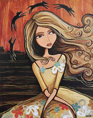 Folk Art Mixed Media - Santa Fe Dreams by Debbie Horton