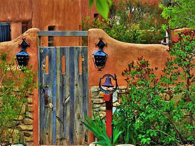 Photograph - Santa Fe Entryway by Lisa Dunn