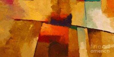 Abstract Expression Painting - Santa Fe by Lutz Baar
