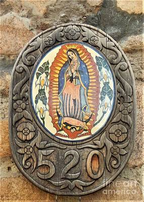 Santa Fe Madonna Art Print by Ann Johndro-Collins