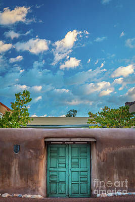 Photograph - Santa Fe Morning Skies by Inge Johnsson