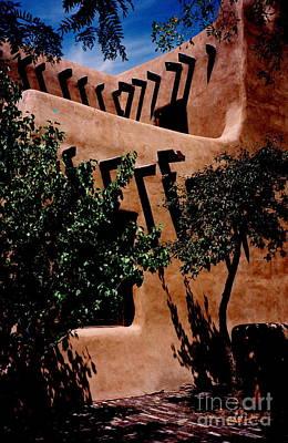 Photograph - Santa Fe Museum by Jacqueline M Lewis