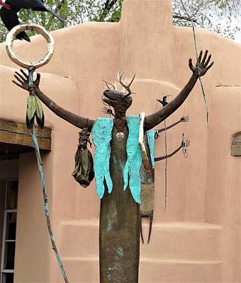 Photograph - Santa Fe Shaman by Lisa Dunn