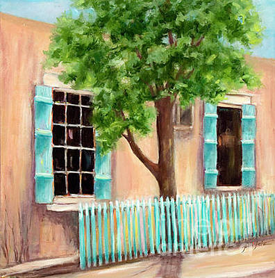 Painting - Santa Fe Shutters by Pati Pelz