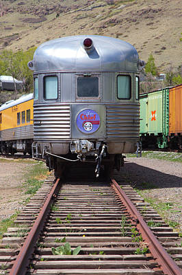 Photograph - Santa Fe Super Chief by Gordon Elwell