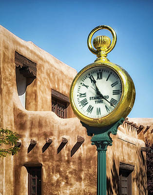 Photograph - Santa Fe Time by James Barber