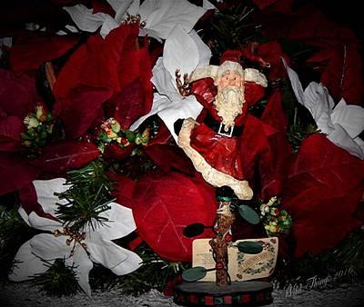 Photograph - Santa Fling by Wild Thing