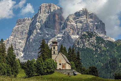 Tyrol Wall Art - Photograph - Santa Fosca - Italy by Joana Kruse