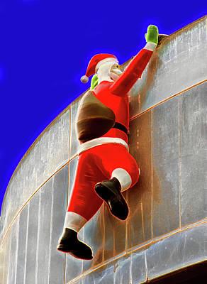 Winter Animals Rights Managed Images - Santa Hard At Work Royalty-Free Image by Miroslava Jurcik