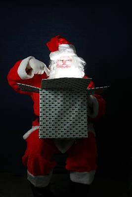 Santa Has Christmas Magic For All Art Print