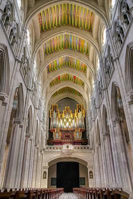 Photograph - Santa Iglesia Catedral De Santa Maria La Real De La Almudena by Ross G Strachan
