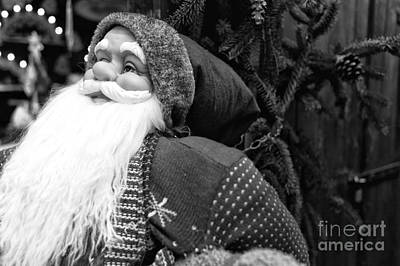 Photograph - Santa In Munich by John Rizzuto