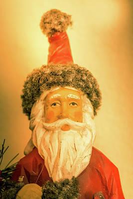 Santa Is Watching Art Print